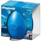 Uovo Blu - Guerriero a cavallo (4937)