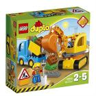 Camion e scavatrice cingolata - Lego Duplo (10812)