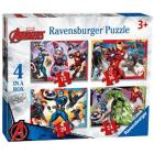 Avengers Puzzle 4 in a box (06942)