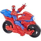 Spider-Man Titan Power con moto