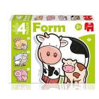 Puzzle Form baby mucca
