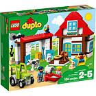 Fattoria con fienile, trattore e animali - Lego Duplo (10952)