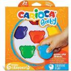 6 Pezzi Carioca Baby Cere Colorate