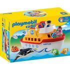 Traghetto con bimbi e animali marini (6957)