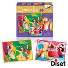 Puzzle Favole 2 - 2 X 48 Rapunzel