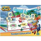 Super Wings Set Timbri Educativi (UPW26000)