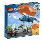 Arresto con il paracadute della Polizia aerea - Lego City Police (60208)