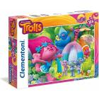 Clementoni Trolls Supercolor Puzzle Maxi 104 Pezzi (23981)