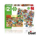 Puzzle 2x20 Parco e Stanza Giochi
