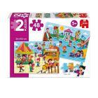 Puzzle 2 X 48 Parco Aquatico E Fiera (69983)