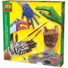 Painted Hand Animals (2214984)