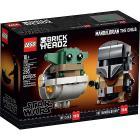 Il Mandaloriano e il Bambino - Lego Brickheadz (75317)