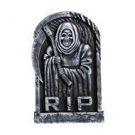 Lapide Morte con Falce in Polistirolo 54x34 cm