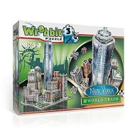 New York Collection - World Trade (Puzzle 3D 875 Pz)