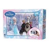 Puzzle interattivo 100 pezzi Frozen (51013)
