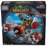Personaggi da montare Warcraft Flying Machine & Flint (Alliance Gnome Rogue) (91018)