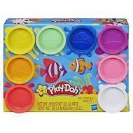 8 Barattoli arcobaleno Play-Doh