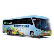 Bus Fifa World Cup Brasile 2014 1:95