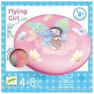 Frisbee Flying Girl (DJ02035)