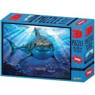 Puzzle 3D H. Robinson: Grande squalo bianco