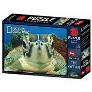 Puzzle 3D Nat Geo: The Ocean - Tartaruga marina