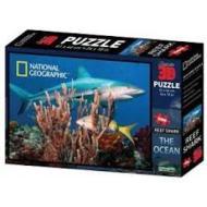 Puzzle 3D Nat Geo: The Ocean - Squalo barriera corallina