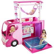 Il camper di Barbie con Barbie e sorelle (X6097)