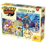 Puzzle 2X35 Yo kai Watch Protect The Seals (60696)
