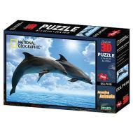 Puzzle 3D Discovery: Delfini 500 Pz