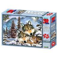 Puzzle 3D H. Robinson: Lupi Wolf Harmony 500 pezzi