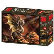 Puzzle 3D Age Of Dragons: Drago del deserto 500 pezzi