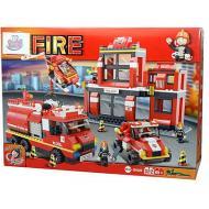 Stazione Pompieri 693 Pezzi (GG81130)