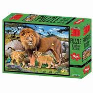 Puzzle 3D H. Robinson: leone 500 pezzi