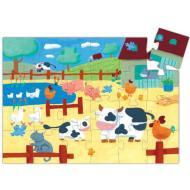 Mucche nella fattoria - 24 pezzi