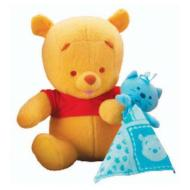 Winnie The Pooh amico della nanna (L0488)