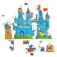 Castello fantastico - adesivi