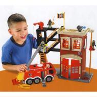 Camion e caserma dei pompieri (W8572)