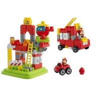 Costruzioni Caserma Pompieri 70 pezzi (07424)