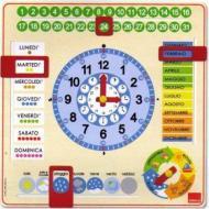 Orologio Calendario Italiano (51310)