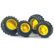 Ruote gialle per trattori SUPER-PRO (02321)
