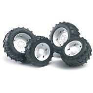 Ruote bianche per trattori SUPER-PRO (02323)