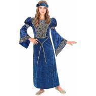 Costume Dama Rinascimento 8-10 anni