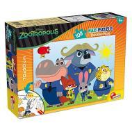 Puzzle Df Supermaxi 108 Zootropolis (53506)