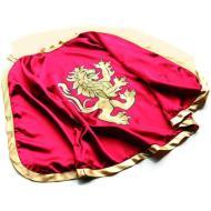 Mantello cavaliere rosso/oro, leone (BS 1780)