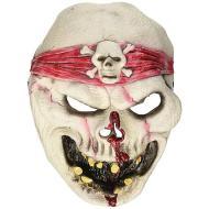 Maschera pirata fantasma adulto