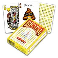 Carte Poker Bicycle Emoji