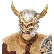 Maschera teschio vichingo adulto