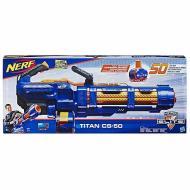 Nerf Elite Titan CS-50 Blaster Motorizzato con Tamburo Rotante da 50 Dardi (E2865)
