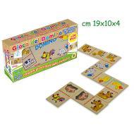 Domino Animali Fattoria 28 tessere in legno