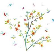 Fiori della primavera - adesivi